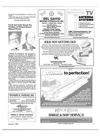 Maritime Reporter Magazine, page 51,  Jan 1985