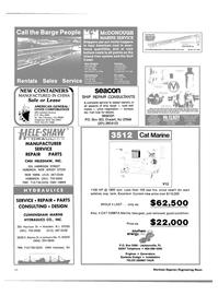 Maritime Reporter Magazine, page 54,  Jan 1985