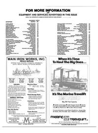 Maritime Reporter Magazine, page 56,  Jan 1985