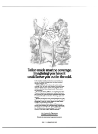 Maritime Reporter Magazine, page 3rd Cover,  Jan 1985 insurance marketplace