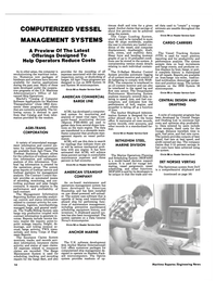 Maritime Reporter Magazine, page 12,  Jan 15, 1985 marine applications