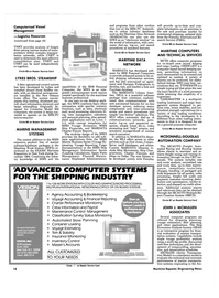 Maritime Reporter Magazine, page 16,  Jan 15, 1985 alpha