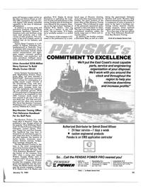 Maritime Reporter Magazine, page 21,  Jan 15, 1985 Ohio
