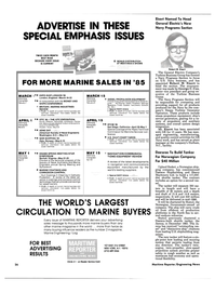 Maritime Reporter Magazine, page 24,  Jan 15, 1985 The World