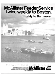 Maritime Reporter Magazine, page 1,  Jan 15, 1985 New York