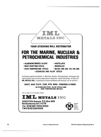 Maritime Reporter Magazine, page 40,  Jan 15, 1985 Industrial Metals International Ltd.