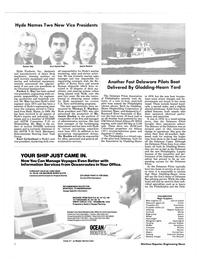 Maritime Reporter Magazine, page 4,  Jan 15, 1985 Johnson Rubber Muffler