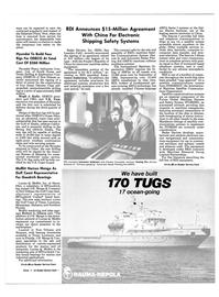 Maritime Reporter Magazine, page 5,  Jan 15, 1985 automatic transmission
