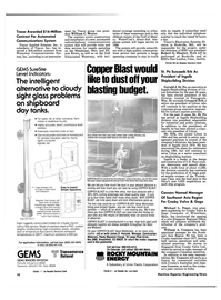 Maritime Reporter Magazine, page 8,  Feb 15, 1985 Massachusetts