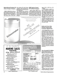 Maritime Reporter Magazine, page 18,  Feb 15, 1985 Connecticut