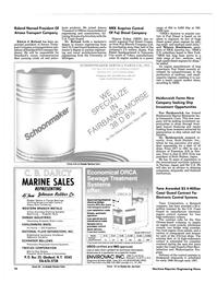Maritime Reporter Magazine, page 18,  Feb 15, 1985