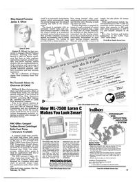 Maritime Reporter Magazine, page 19,  Feb 15, 1985