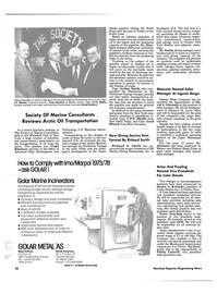 Maritime Reporter Magazine, page 20,  Feb 15, 1985