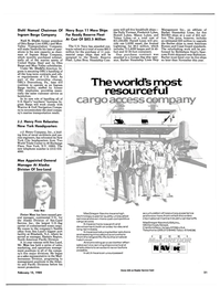 Maritime Reporter Magazine, page 21,  Feb 15, 1985 Frederick Lykes