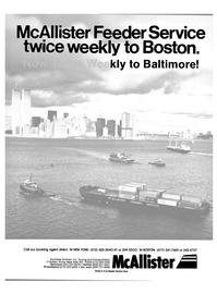 Maritime Reporter Magazine, page 1,  Feb 15, 1985