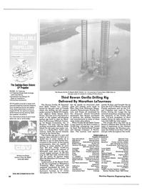Maritime Reporter Magazine, page 28,  Feb 15, 1985