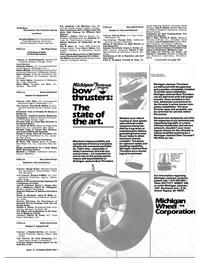 Maritime Reporter Magazine, page 33,  Feb 15, 1985