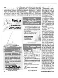 Maritime Reporter Magazine, page 38,  Feb 15, 1985