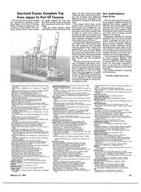 Maritime Reporter Magazine, page 45,  Feb 15, 1985