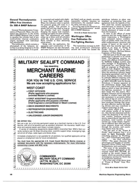 Maritime Reporter Magazine, page 46,  Feb 15, 1985