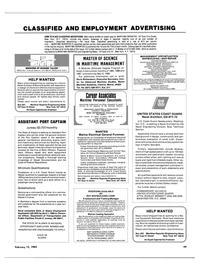 Maritime Reporter Magazine, page 47,  Feb 15, 1985