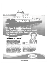Maritime Reporter Magazine, page 4th Cover,  Feb 15, 1985