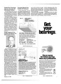 Maritime Reporter Magazine, page 5,  Feb 15, 1985