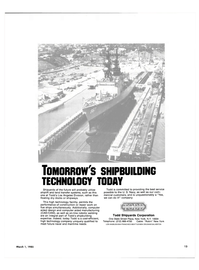 Maritime Reporter Magazine, page 11,  Mar 1985 United States Navy