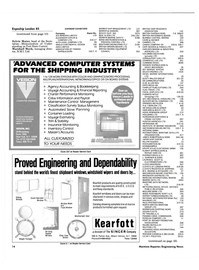 Maritime Reporter Magazine, page 12,  Mar 1985 Kelvin Hughes
