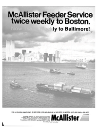 Maritime Reporter Magazine, page 1,  Mar 1985 L McAllister Brothers Inc.