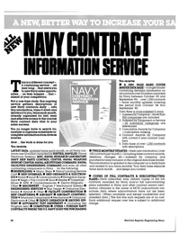 Maritime Reporter Magazine, page 28,  Mar 1985