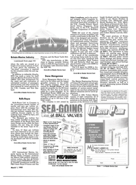 Maritime Reporter Magazine, page 35,  Mar 1985