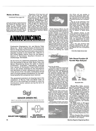 Maritime Reporter Magazine, page 44,  Mar 1985