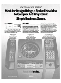 Maritime Reporter Magazine, page 4th Cover,  Mar 1985