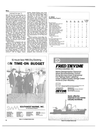 Maritime Reporter Magazine, page 12,  Mar 15, 1985