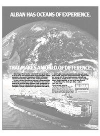 Maritime Reporter Magazine, page 2nd Cover,  Mar 15, 1985 Bethlehem Steel Corporation