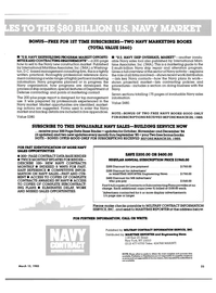 Maritime Reporter Magazine, page 23,  Mar 15, 1985 Department of Defense