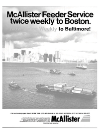 Maritime Reporter Magazine, page 1,  Mar 15, 1985