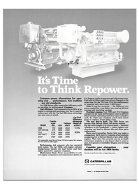 Maritime Reporter Magazine, page 29,  Mar 15, 1985 Cat 3500 Series