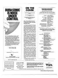 Maritime Reporter Magazine, page 2,  Mar 15, 1985 Ohio