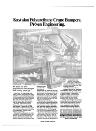 Maritime Reporter Magazine, page 2nd Cover,  Apr 1985 polyurethane products