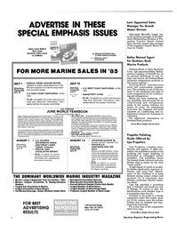 Maritime Reporter Magazine, page 3rd Cover,  Apr 1985 Giovanni Revello Lami