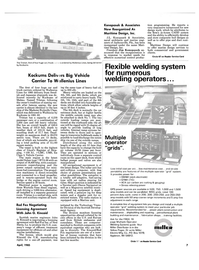 Maritime Reporter Magazine, page 4th Cover,  Apr 1985 Sulzer