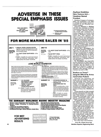 Maritime Reporter Magazine, page 8,  May 1985