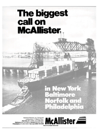 Maritime Reporter Magazine, page 1,  May 1985