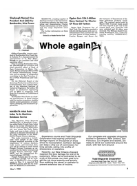 Maritime Reporter Magazine, page 3,  May 1985