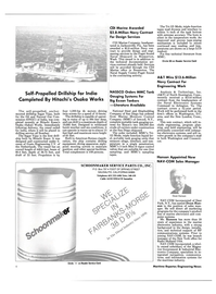 Maritime Reporter Magazine, page 4,  May 1985