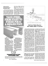 Maritime Reporter Magazine, page 6,  May 1985