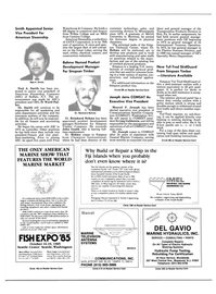 Maritime Reporter Magazine, page 12,  May 15, 1985