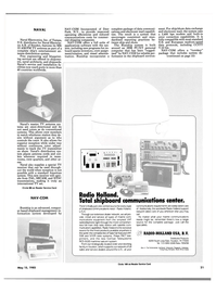 Maritime Reporter Magazine, page 19,  May 15, 1985